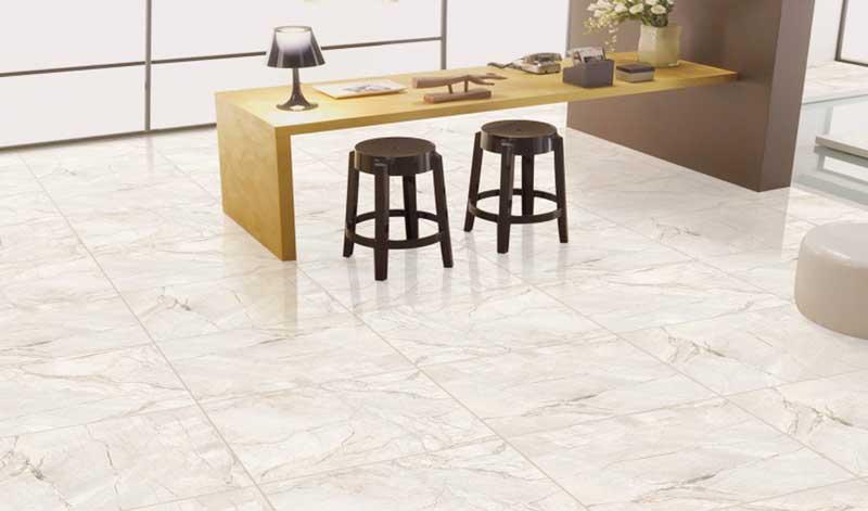 Thru body porcelain floor tile